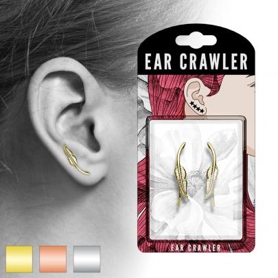 Ear Crawler med löv