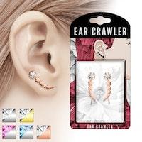 Ear crawler med stjärnor