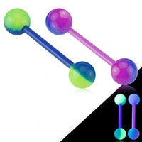 Barbell Glow in the dark
