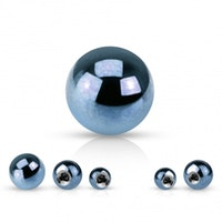 Ljusblå lös boll