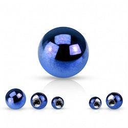 Blå lös boll