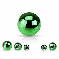 Grön lös boll