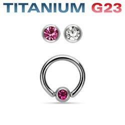 G23 Titan cbr med ädelsten