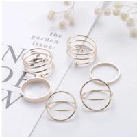 6 pack stål ringar