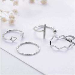 4 pack stål ringar