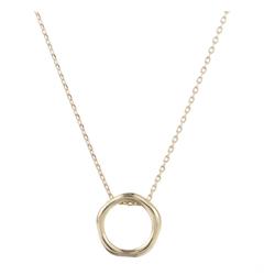 Halsband med cirkel