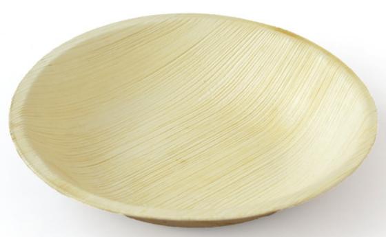 Runda Palmbladsskålar - 18 cm (25 st)