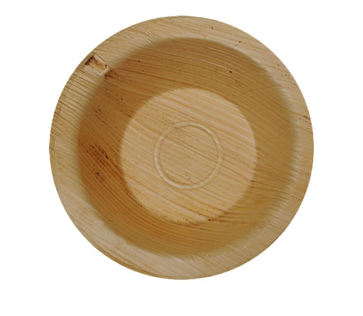 Runda Palmbladsskåla - 15 cm (10 st)