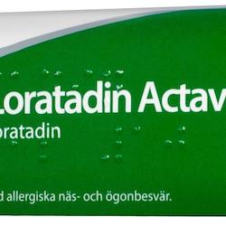 Loratadin Actavis, tablett 10 mg 28 st