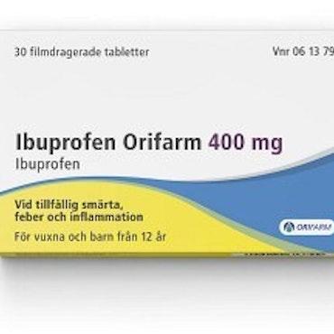 Ibuprofen Orifarm, tablett 400 mg 30 st
