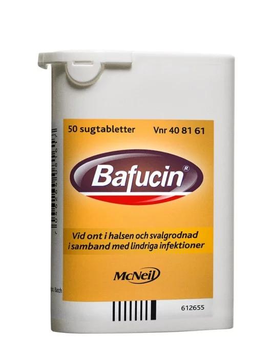 Bafucin, sugtablett 50 st