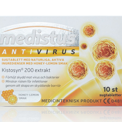 Medistus AntiVirus Honey Lemon 10 st