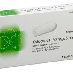 Xyloproct, suppositorium 10 st