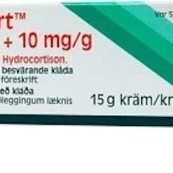 Daktacort, kräm 20 mg/g + 10 mg/g 15 gr