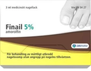 Finail, medicinskt nagellack 5 % 3 ml