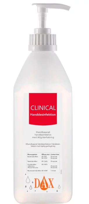 DAX Clinical Handdesinfektion 600 ml