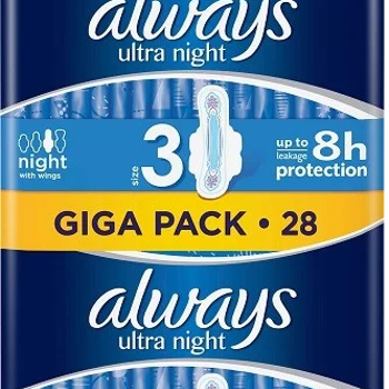 Always Ultra Night 28 st