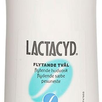 Lactacyd flytande tvål utan parfym 1000 ml