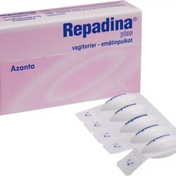 Repadina Plus 10 Vagitorier á 10 mg