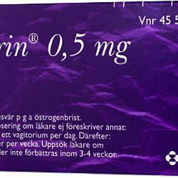 Ovesterin vagitorium 0,5 mg 30 st