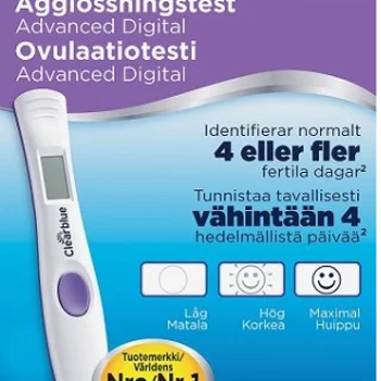 Clearblue Advanced Ägglossningstest 10 st