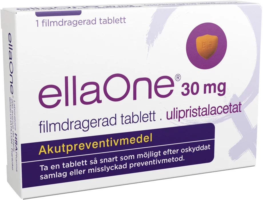 ellaOne, tablett 30 mg 1 st