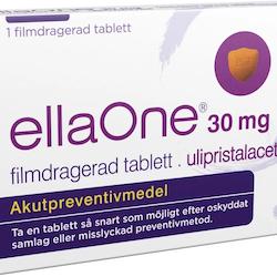 ellaOne, tablett 30 mg 1 st