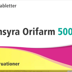 Tranexamsyra Orifarm, filmdragerad tablett 500 mg 20 st