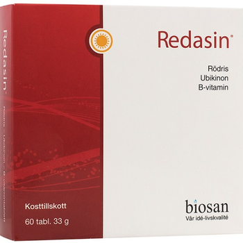 Redasin 60 tabletter