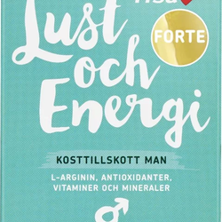 Lust & Energi Man 100 tabletter