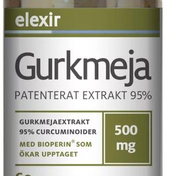 Elexir Gurkmeja 60 tabletter