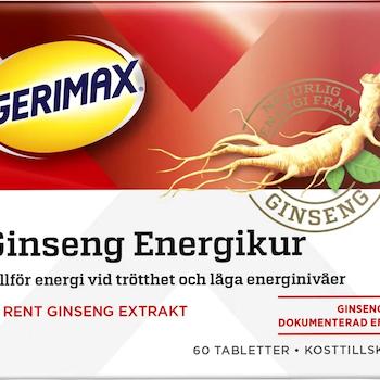 Gerimax Ginseng 60 tabletter
