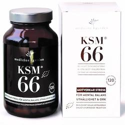 KSM66 Ashwagandha 120 kapslar