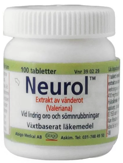 Neurol, dragerad tablett 100 st
