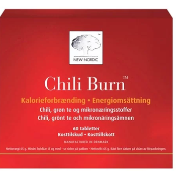Chili Burn 60 tabletter