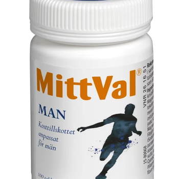 MittVal Man 100 tabletter