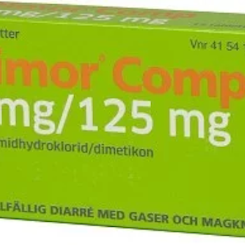 Dimor Comp, tablett 2 mg/125 mg 12 st