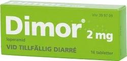 Dimor, filmdragerad tablett 2 mg 16 st