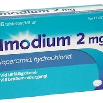 Imodium tablett 2 mg, 16 st