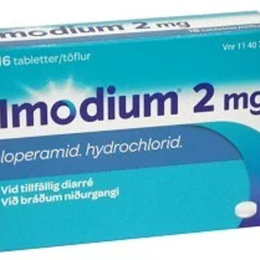 Imodium tablett 2 mg, 16 st