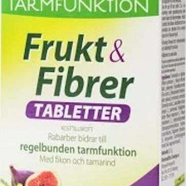 Frukt & Fibrer 30 tabletter