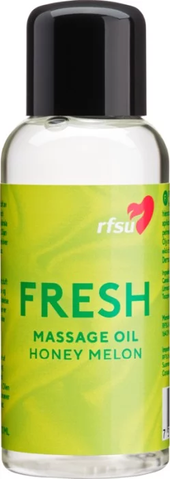 RFSU Massageolja Fresh Honey Melon 100 ml
