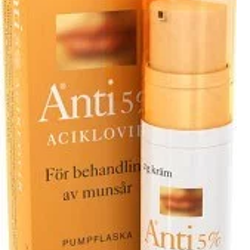Anti, kräm 5 % (pumpflaska) 2 gr
