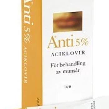 Anti, kräm 5 % 2 gr