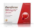 Duroferon, depottablett 100 mg Fe2+ 100 st
