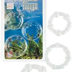 Pro Rings 3-Pack Penisringar Clear
