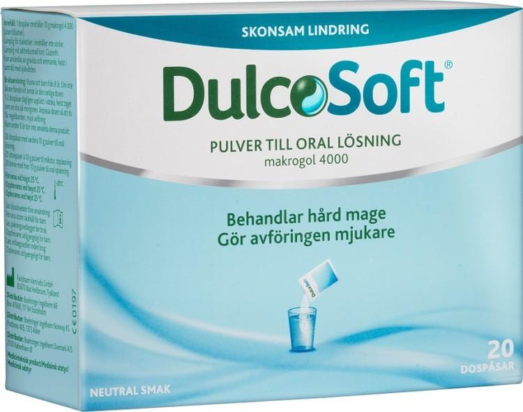 DulcoSoft pulver dospåsar 20 st
