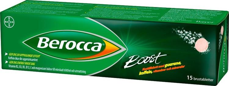 Berocca Boost brustablett 15 st