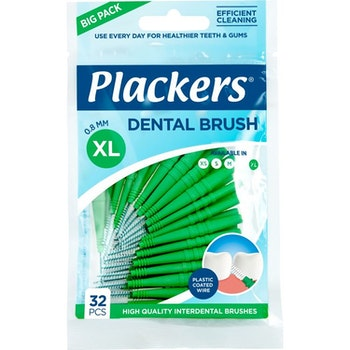 Plackers Dental Brush 0,8 Mm 32.0 st