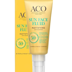ACO Sun Mattifying Face Fluid SPF 50, 40 ml